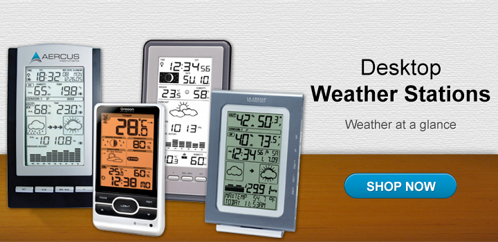 Desktop Weather Stations